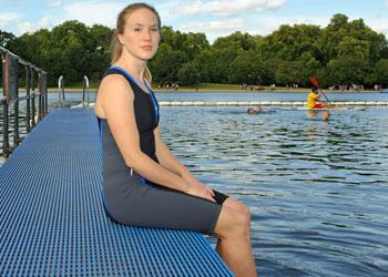 Help overcome triathlon swim fears
