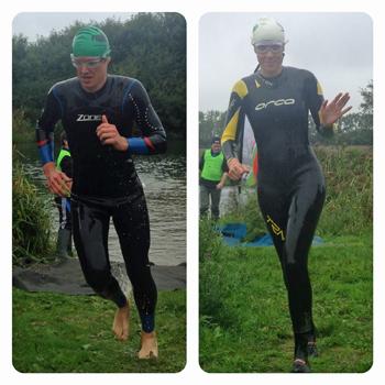 triathlon fear of being last