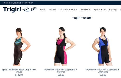 New Trigirl Shop is Live