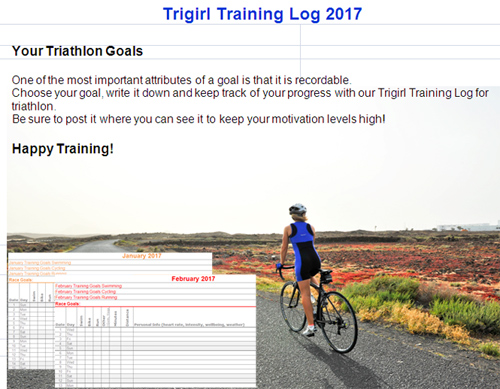 Triathlon Training Log 2017