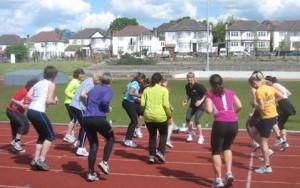 Women's only novice triathlon training days