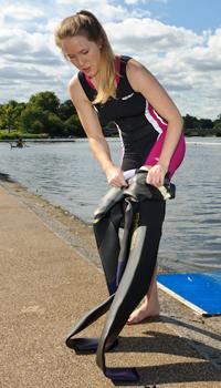 Top 10 Triathlon-Ausrüstung: Neoprenanzug