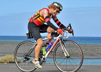 Oldest British Ironman Eddie Brocklesby