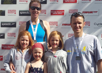 Balancing Triathlon Training with Being a Mum