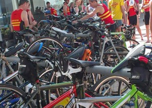 time saving triathlon transition tips