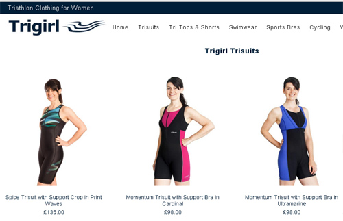 New Trigirl Shop is Live