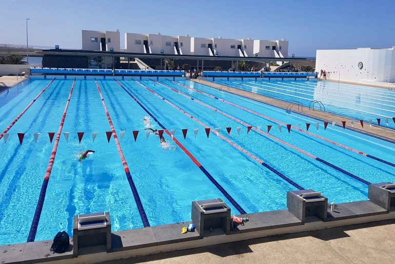 high-intensity swim